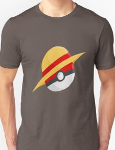 Pokeball and Luffy's hat T-Shirt