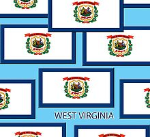Smartphone Case -  State Flag of West Virginia 11 by Mark Podger