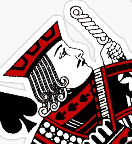 jack of spades Sticker