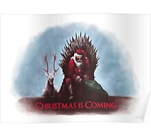 Christmas is Coming - Game of Thrones  Poster