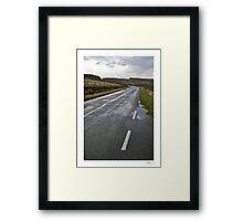 road Framed Print