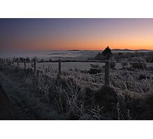 Frosty Dawn Photographic Print