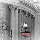 Paris Metro Grand Palais by Lynn Bolt