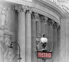 Paris Metro Grand Palais by Lynn Bolt
