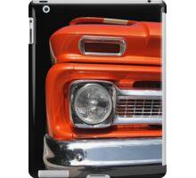 Big in orange iPad Case/Skin