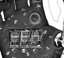 steampunk machine hand Sticker