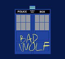 Tardis - Bad Wolf by cajunpygmy