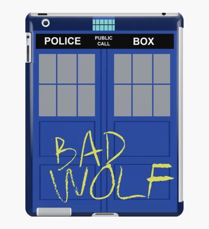 Tardis - Bad Wolf iPad Case/Skin