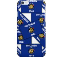 Smartphone Case -  State Flag of Wisconsin 3 iPhone Case/Skin