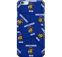 Smartphone Case -  State Flag of Wisconsin 5 iPhone Case/Skin