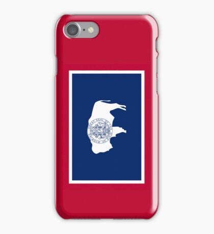 Smartphone Case -  State Flag of Wyoming 1 iPhone Case/Skin