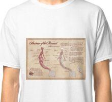 Anatomy of the Mermaid Classic T-Shirt