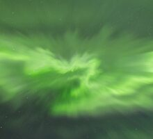 Northern Lights Corona by Christian Nilsen