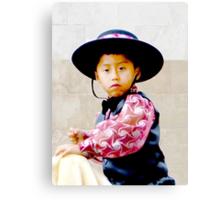 Cuenca Kids 354 Canvas Print