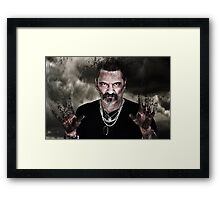 Don't touch! Framed Print
