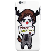 Alan wish you a Merry Christmas˜ iPhone Case/Skin