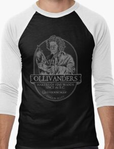 Ollivanders fine wands Men's Baseball ¾ T-Shirt