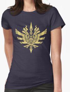 Monster Hunter 4 Logo Womens Fitted T-Shirt
