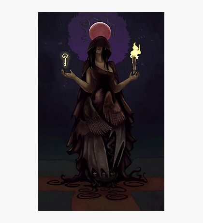 Crossroads Hecate Photographic Print