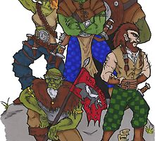 Orcs: The Wolverins by Demorta