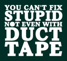 Can't Fix Stupid by e2productions