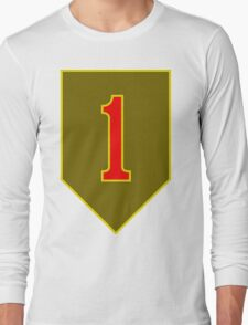 1st Infantry Division, US Army Long Sleeve T-Shirt