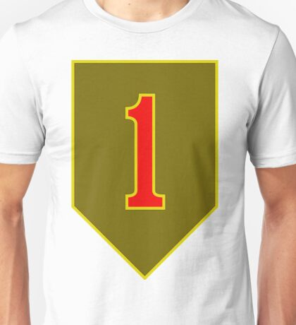 1st Infantry Division, US Army Unisex T-Shirt