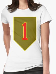 1st Infantry Division, US Army Womens Fitted T-Shirt