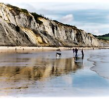 Charmouth Beach by Susie Peek