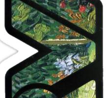 rva - daubigny's garden by van gogh Sticker