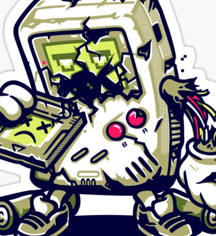 ZomBoy Attacks Sticker