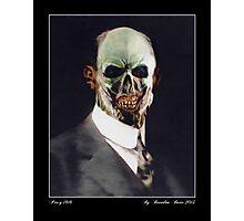 Zombie Percy - 1916 Photographic Print