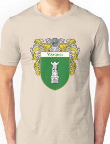 Vasquez Coat of Arms/Family Crest Unisex T-Shirt