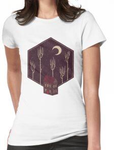 Still Night Womens Fitted T-Shirt