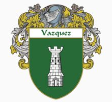 Vazquez Coat of Arms/Family Crest Kids Tee