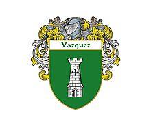 Vazquez Coat of Arms/Family Crest Photographic Print