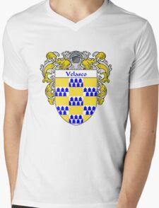 Velasco Coat of Arms/Family Crest Mens V-Neck T-Shirt