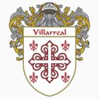 Villarreal Coat of Arms/Family Crest by William Martin
