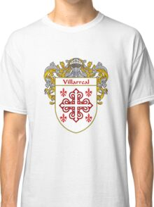 Villarreal Coat of Arms/Family Crest Classic T-Shirt
