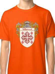 Villarreal Coat of Arms/Family Crest Classic T-Shirt