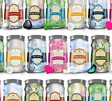 """Soul Purpose"" Collection Multi Jars by soaringanchor"
