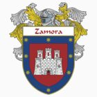 Zamora Coat of Arms/Family Crest by William Martin