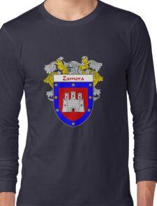 Zamora Coat of Arms/Family Crest Long Sleeve T-Shirt