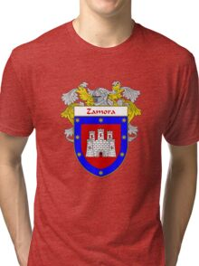 Zamora Coat of Arms/Family Crest Tri-blend T-Shirt