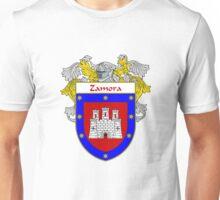 Zamora Coat of Arms/Family Crest Unisex T-Shirt