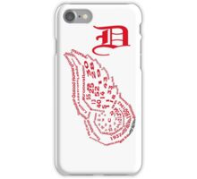 Red Wing Pride iPhone Case/Skin