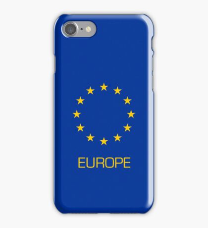 Smartphone Case - Flag of The European Union (Europe) iPhone Case/Skin