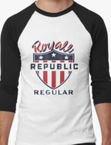 Vintage Royale Republic Gasoline Men's Baseball ¾ T-Shirt