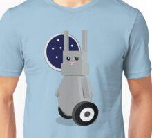 Robot Rabbit in Space Unisex T-Shirt