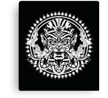 Hanuman Smoking Canvas Print